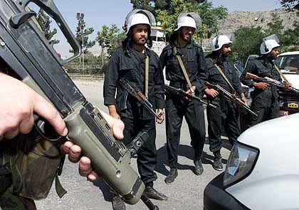 Afghanische Polizisten