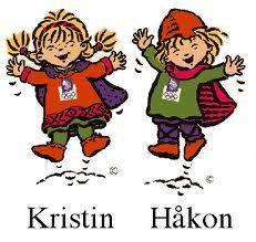 Kristin et Haakon...