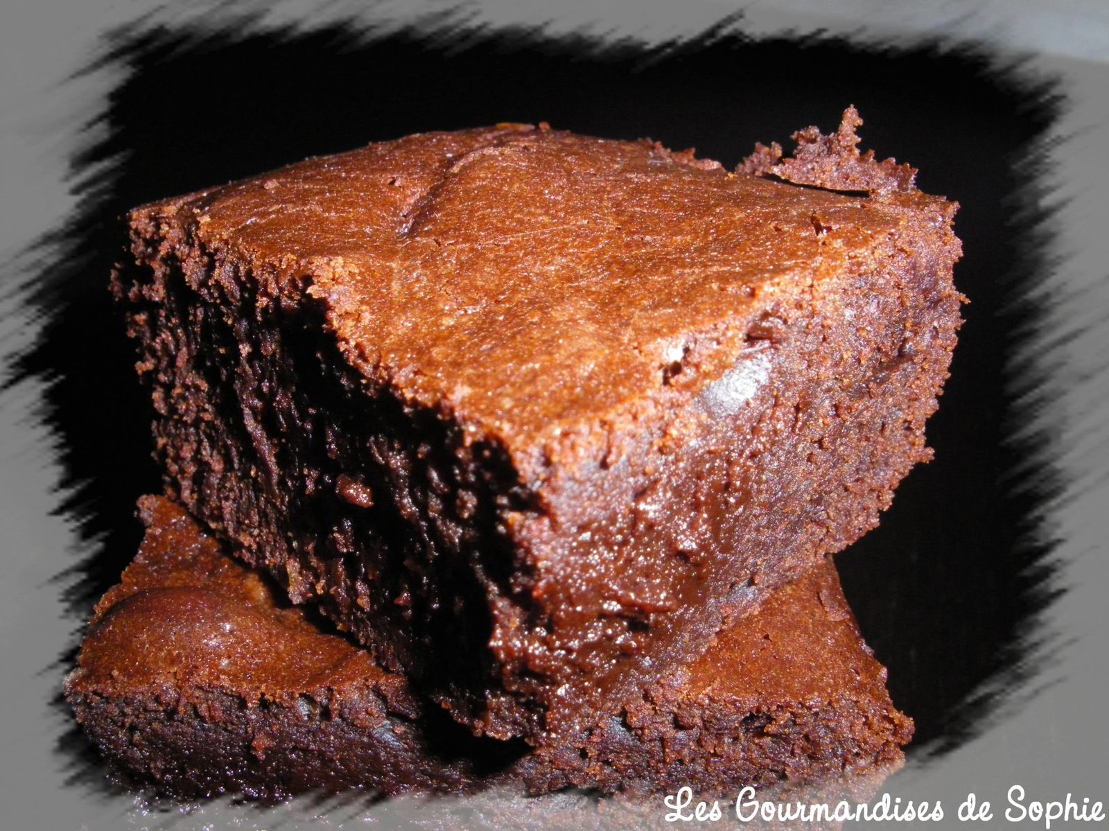 Triple Chocolate Flourless Brownies Recipe & Video