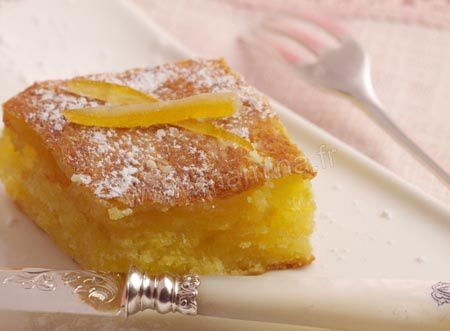 Gateau al orange citron