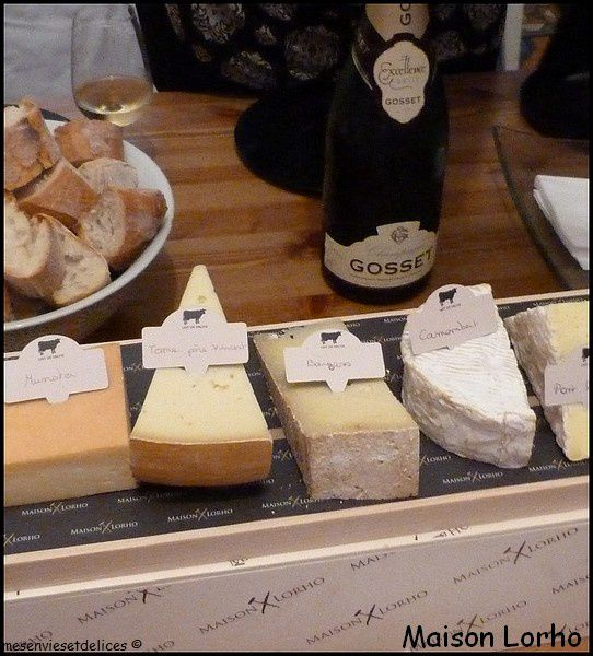 Lorho fromage dégustation