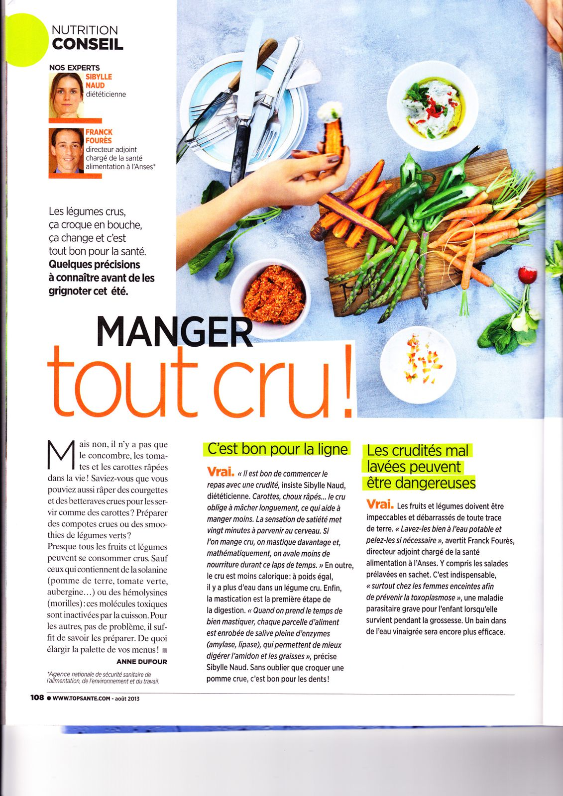 article TOP SANTE 1