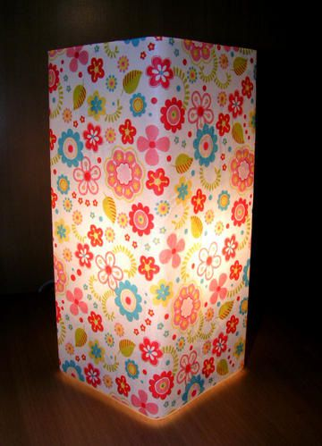 Diy lampe en decopatch avec tuto crealoutre for Decopatch meuble