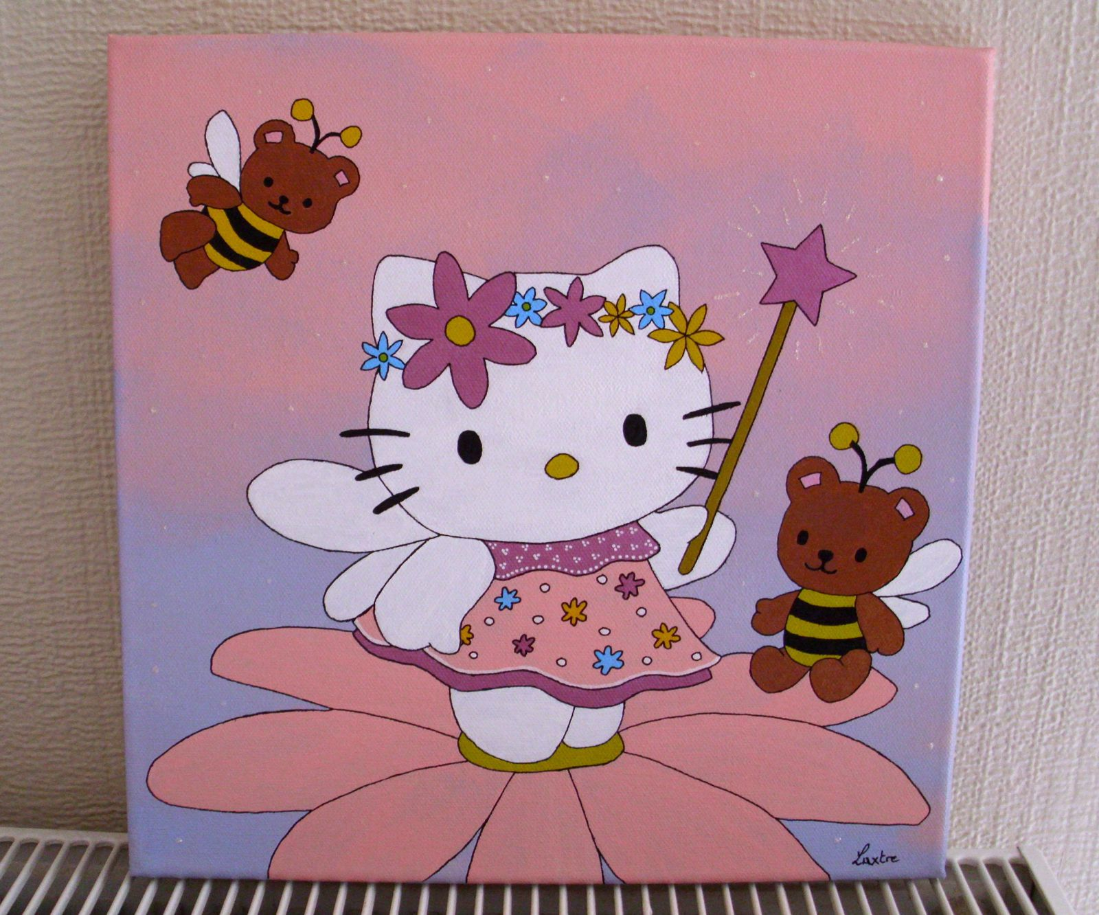 Tableau d co hello kitty for Deco chambre hello kitty