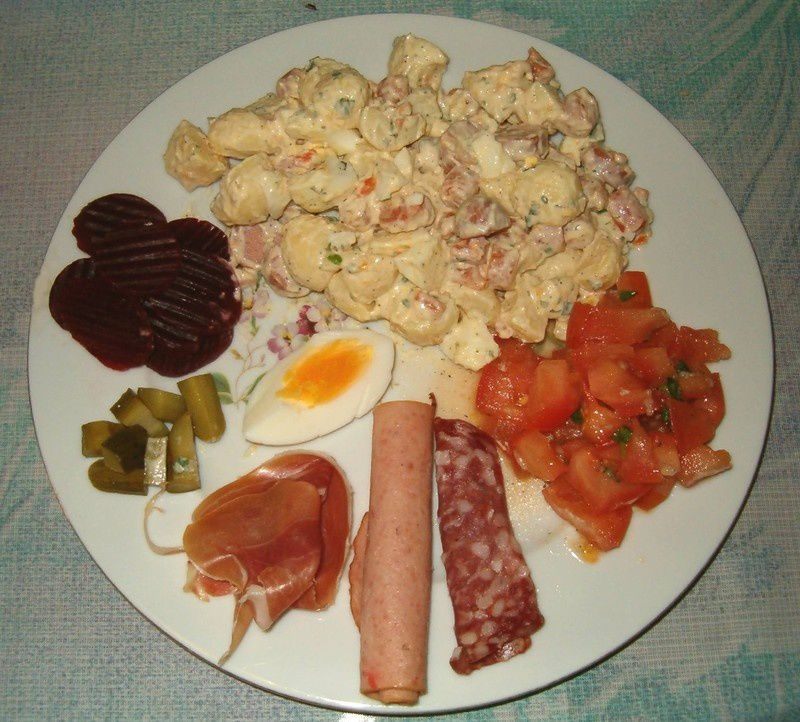 Id es repas froid rapide for Idee entree repas famille