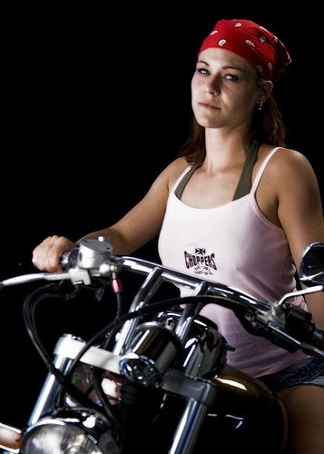 2012 motorcycles babes Nikki on Chopper 007 www.flickr.com