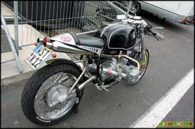 Cafe Racer - radical bike - bmw
