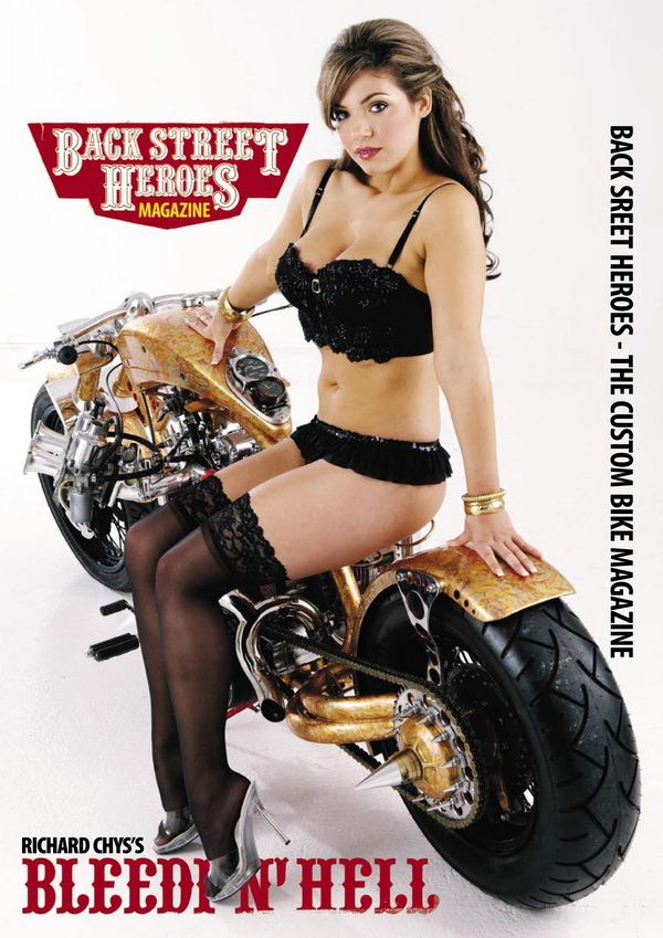 Back Street Heroes Magazine poster issue 297 - the custom bike magazine