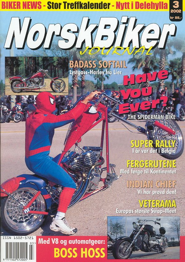 Norskbiker journal - 2002 issue 3