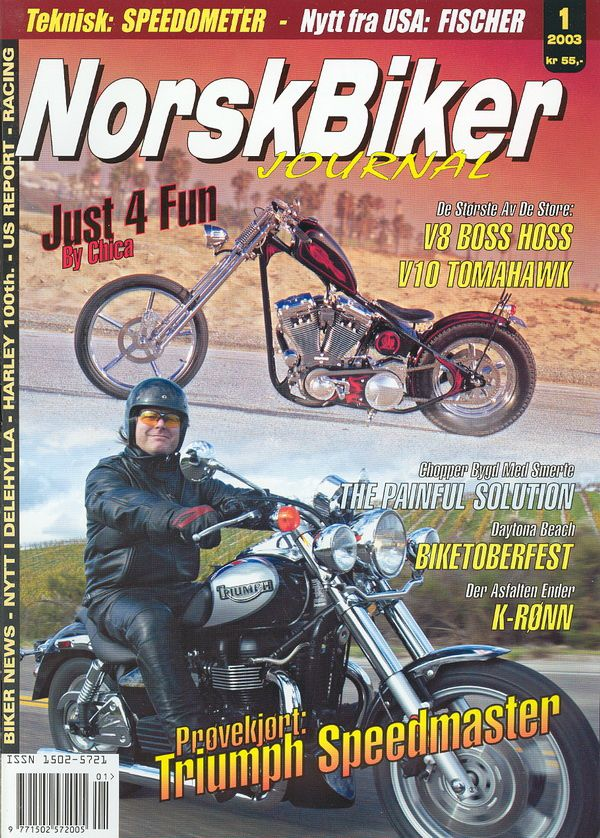 Norskbiker journal - 2003 issue 1
