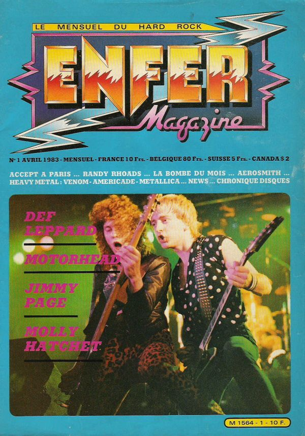 ENFER MAGAZINE N° 01 - Avril 1983