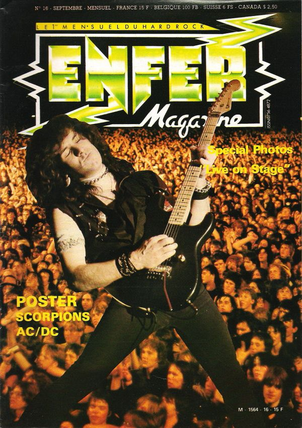 ENFER MAGAZINE N° 16 - Septembre 1984