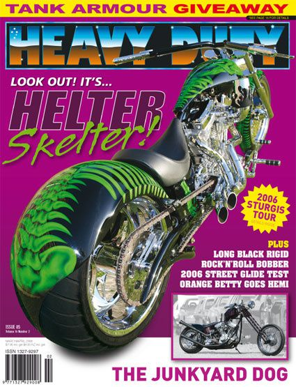 HEAVY DUTY Issue 85 March/April 2006