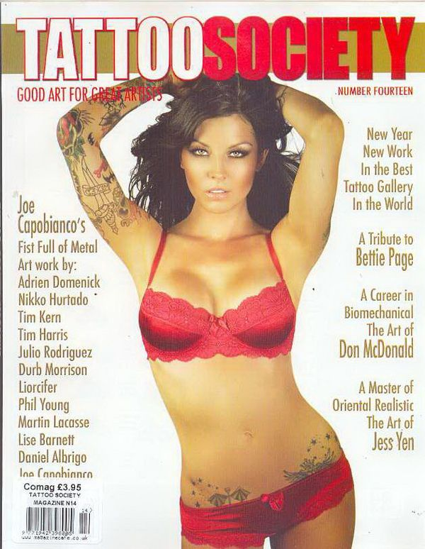 MAGAZINE-TATTOO SOCIETY ISSUE 14