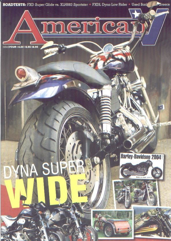 American V issue 4
