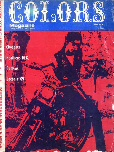 colors magazine : the motorcycle club's bible - may 1970
