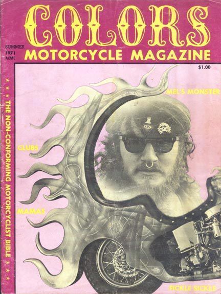COLORS Motorycle Magazine summer 1971