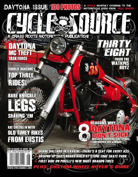 Cycle source - June '08 - Volume 12 Issue 3