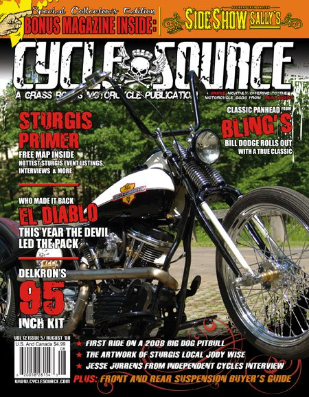 Cycle source - August '08 - Volume 12 Issue 5