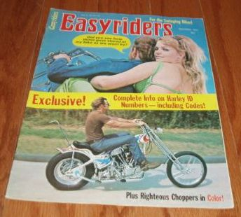 Easyriders volume 1 n°4 December 1971
