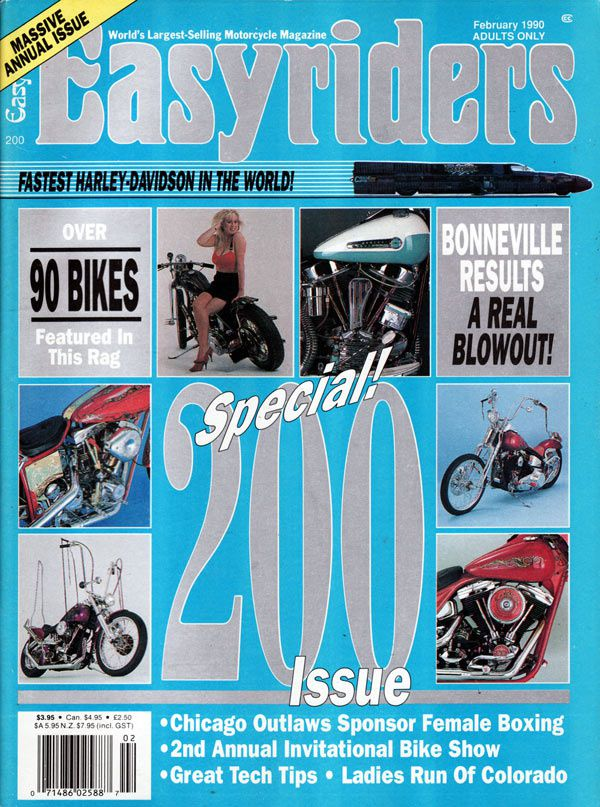 Easy Riders Magazine February 1990 Volume 20 Number 200