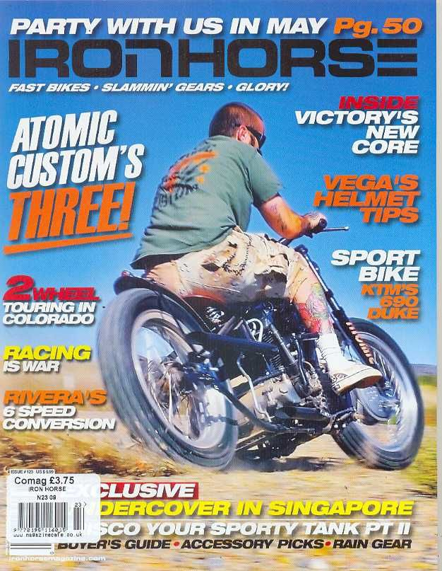 iron horse magazine issue 123