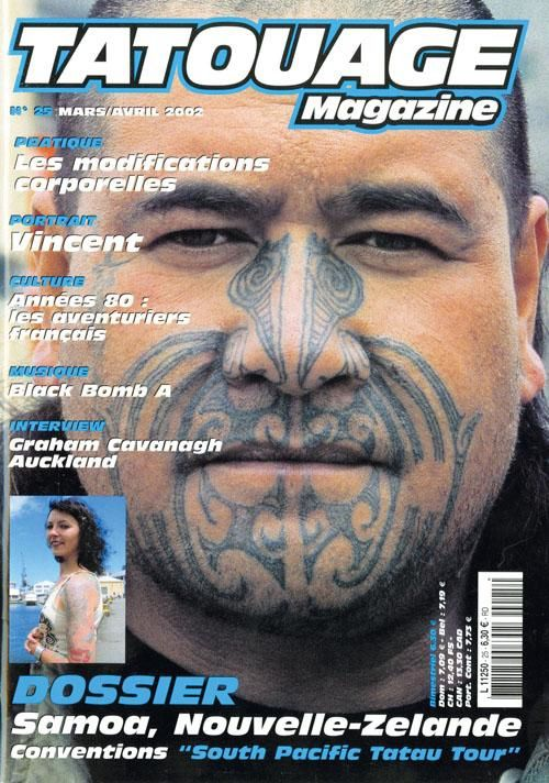 Tatouage n°25 - mars/avril 2002