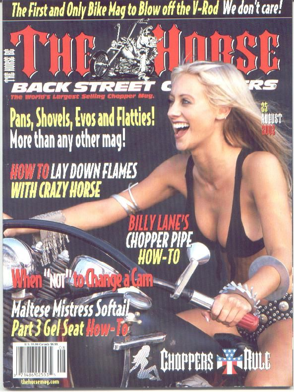 The Horse - Backstreet Choppers - n°25, august 2002