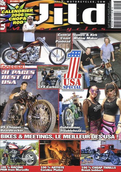 wild motorcycles n°49 décembre 2005