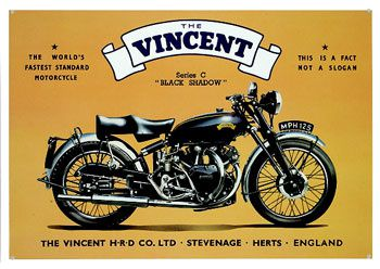 the vincent - black shadow