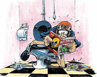 Biker jokes radical flat twin - Dessin humoristique motard ...