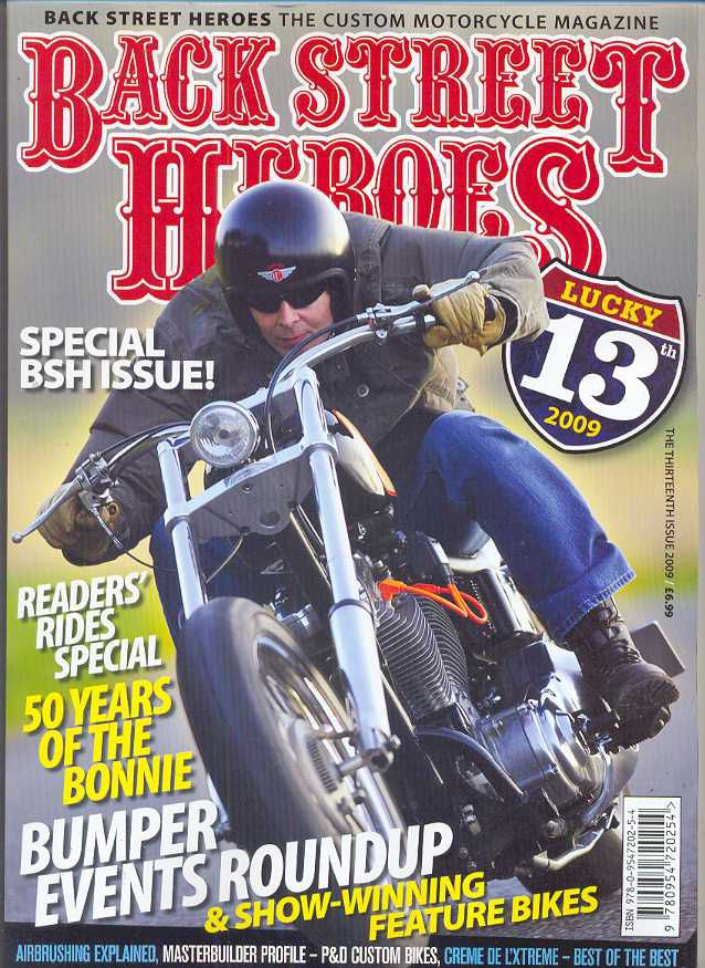 Back Street Heroes - special BSH issue ! the thirteenth issue 2009
