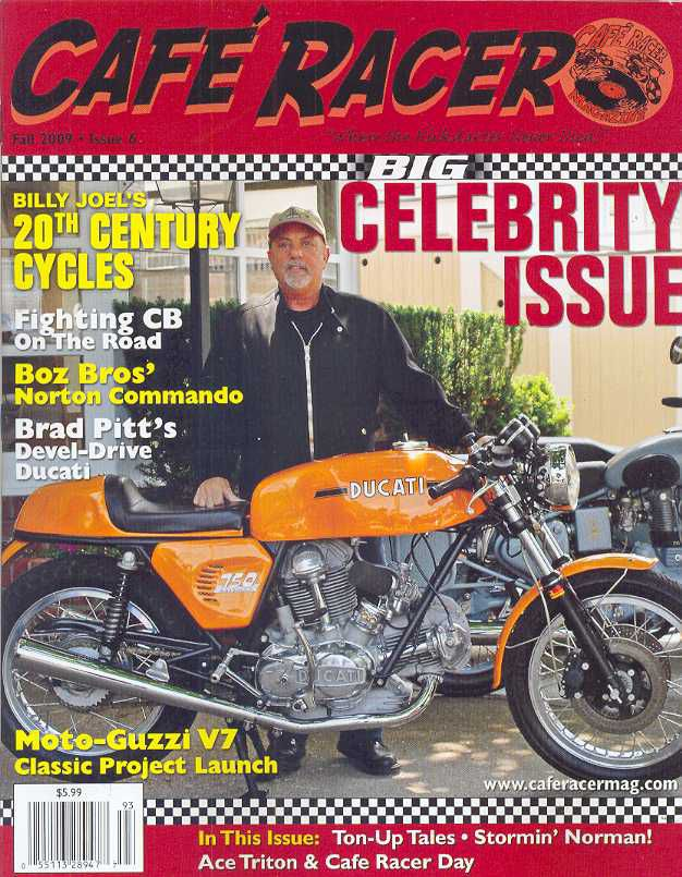 cafe racer - fall 2009 - issue 6