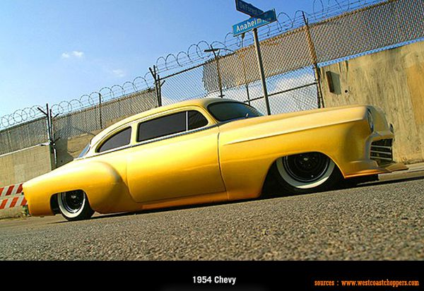 West Coast Choppers - 1954 Chevy