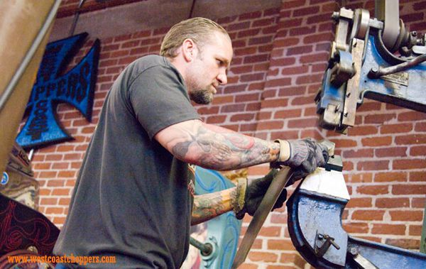 West Coast Choppers - Jesse James - EL JEFE