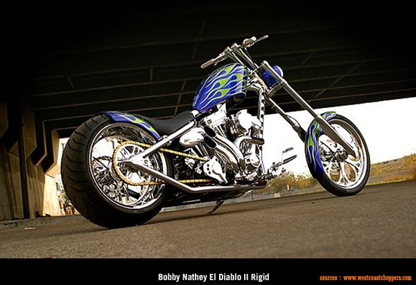 West Coast Choppers - Bobby Nathey El Diablo II Rigid
