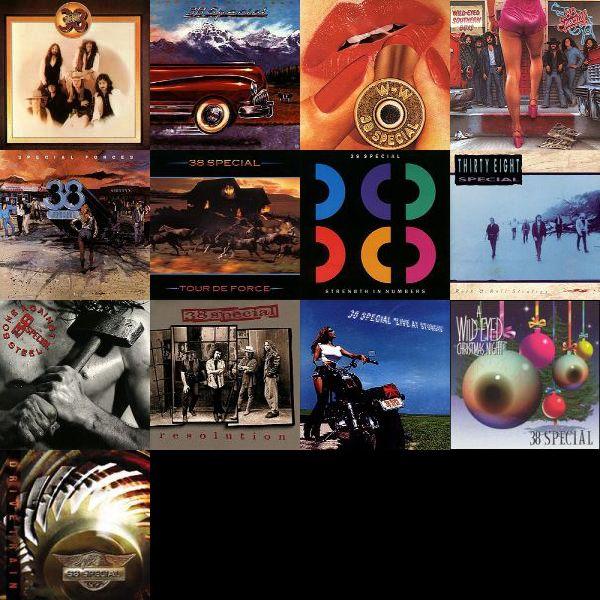 38 Special discography