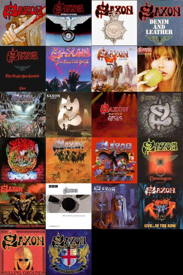 Saxon - discographie