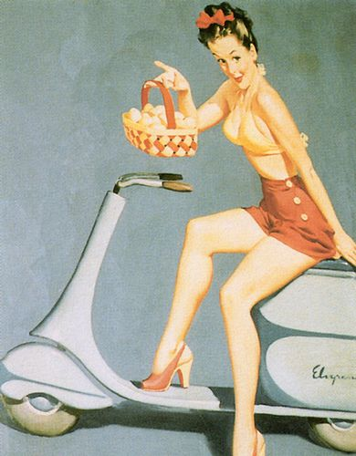 pin-up 0328 Haven t I got swell eggs 1946