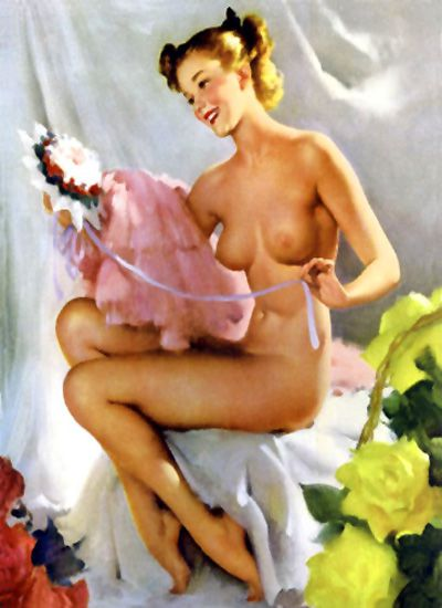 pin-up 0341 MODERN VENUS 1949