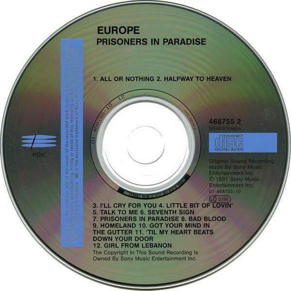 RPL 0341 Europe-Prisoners In Paradise 04