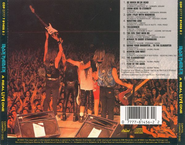 RPL 0351 Iron Maiden-A Real Live One 03