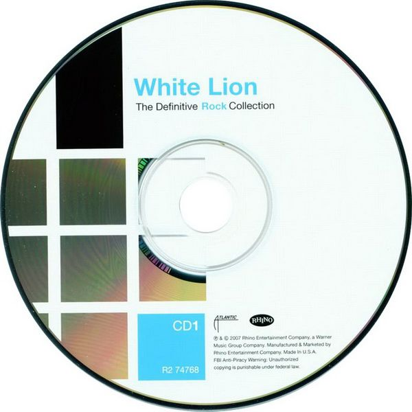 RPL 0364 White Lion-The Definitive Rock Collection 01