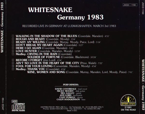 RPL 0367 Whitesnake-Germany 1983 02