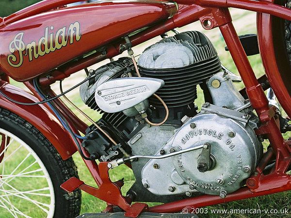 Red Indian 101 Racer