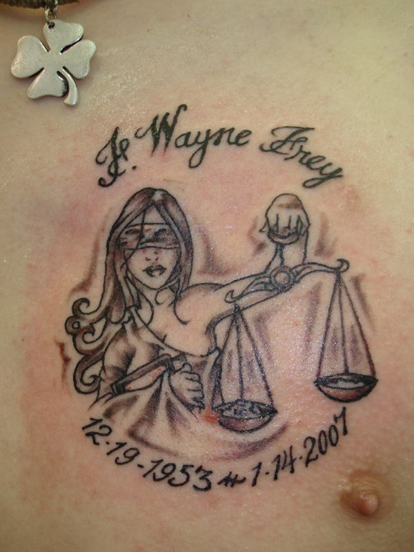 tattoos 0309 LADY JUSTICE TATTOO by Dreekzilla