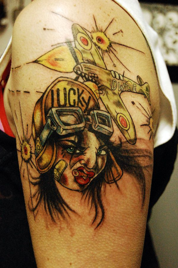 tattoos 0311 Lucky 1 by WikkedOne