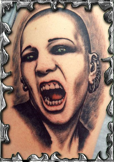 tattoos 0329 Scream tattoo by mojotatboy