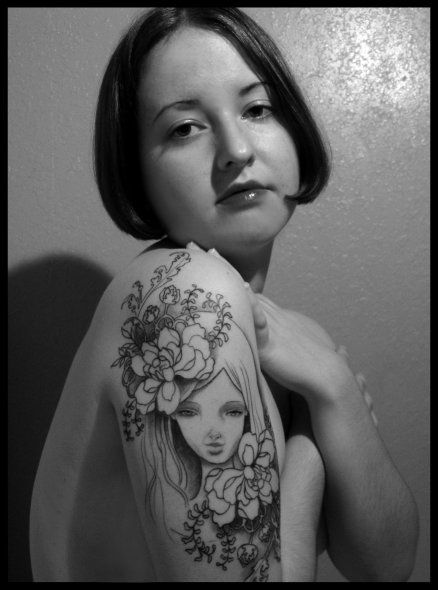 tattoos 0347 Audrey by xDomestica