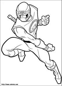 Coloriage power rangers coloring gif clipart blinkies - Coloriages power rangers ...
